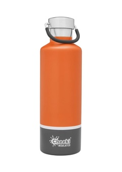 Termopudele Cheeki Orange Grey 600 ml
